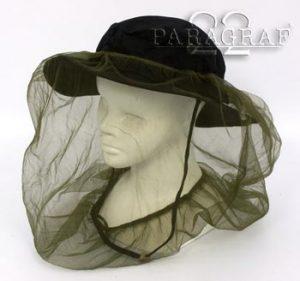 Moskitiera na kapelusz