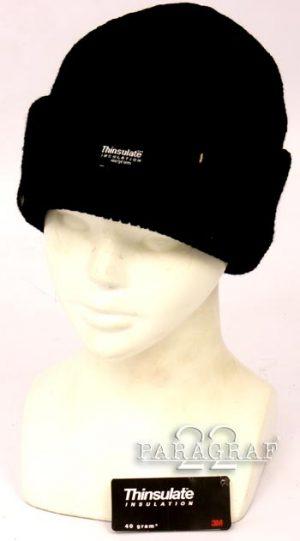 Czapka Wotch cap czarnaThinsulate