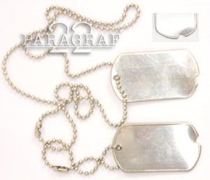DOG TAG US WWII repro.