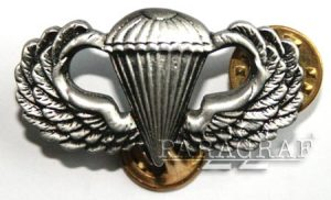 Srebrna Odznaka Dewizji PDesantowych US Army