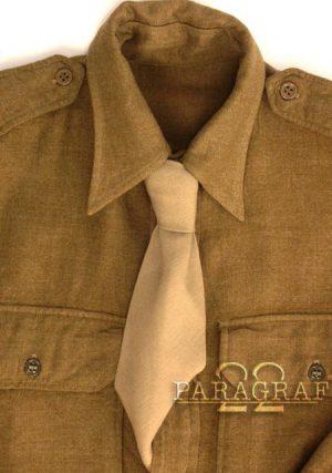 Krawat US WWII khaki