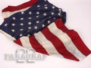 Flaga US org. 150x290cm