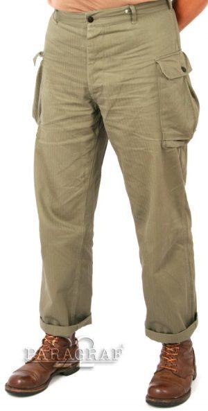 Spodnie HBT US WWII repro.