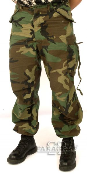 Spodnie US G.I. M65 woodl.