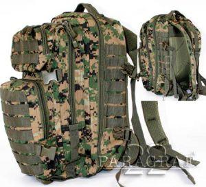 Plecak US Assupack marpat woodl. L
