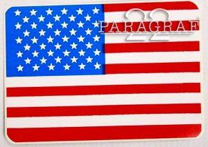 Nalepka USA