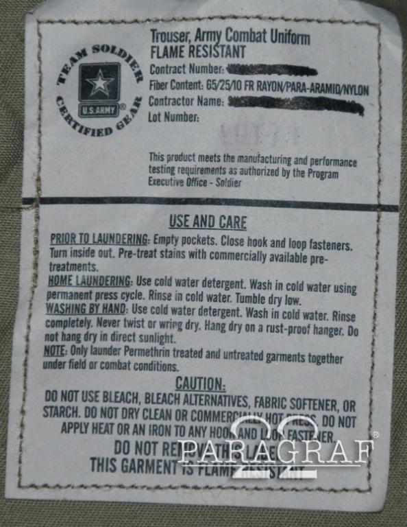 Spodnie US Army Mulicam GI