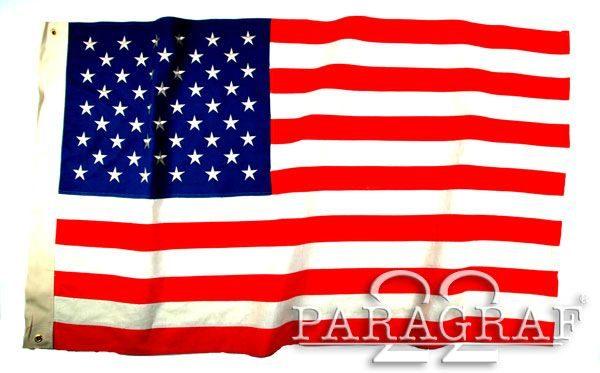 FLAGA USA 48-GWIZD REPRODUKCJA