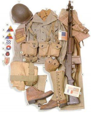 EKWIPUNEK US WW2