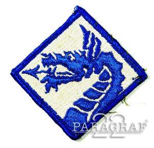 NASZYWKA US ARMY 18TH ARMY CORPS AIRBORNE