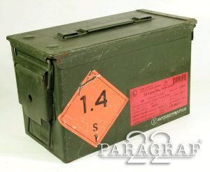 SKRZYNKA NATO M2A1