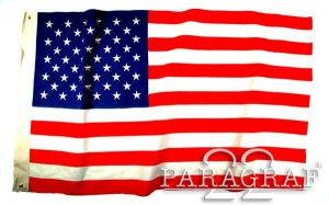 FLAGA USA 50-GWIZD REPRODUKCJA